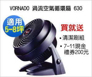 VORNADO 渦流空氣循環扇 630;點擊次數:1636;曝光次數:130030